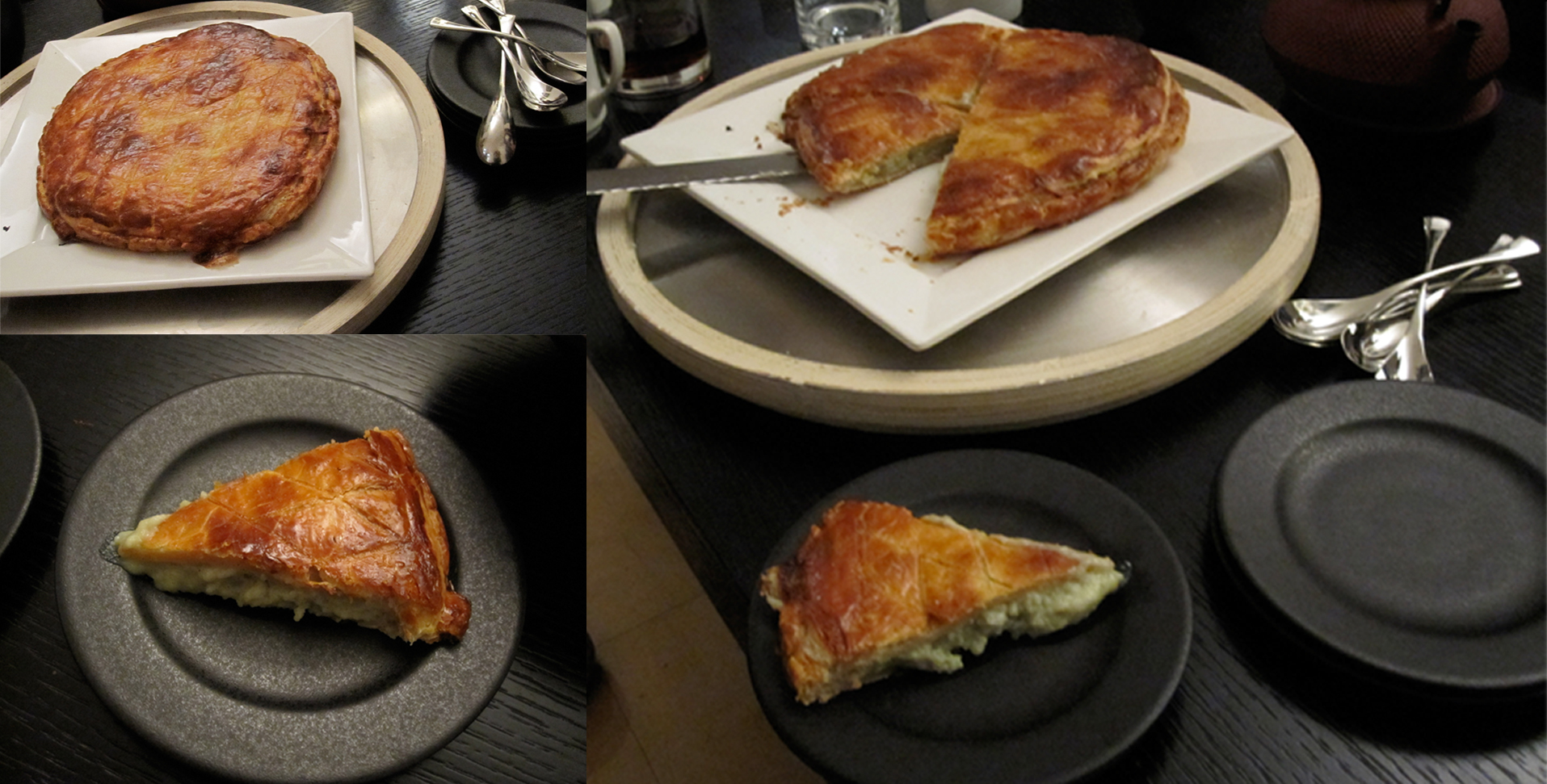 Happy new year and happy galette des rois friends in - Galette des rois image ...