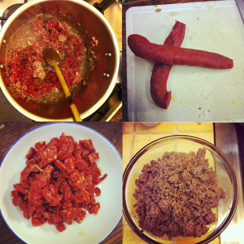 1-Meat & Chorizo