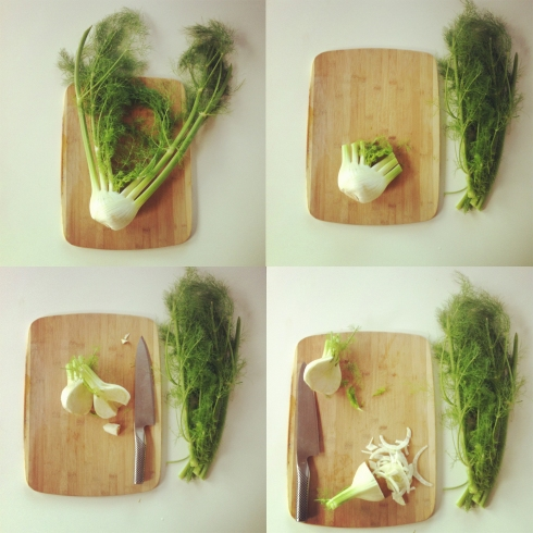 Fennel Cutting