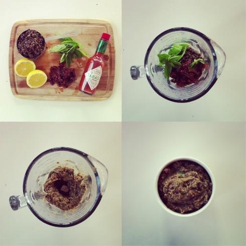 Puy Lentil & Basil Hummus