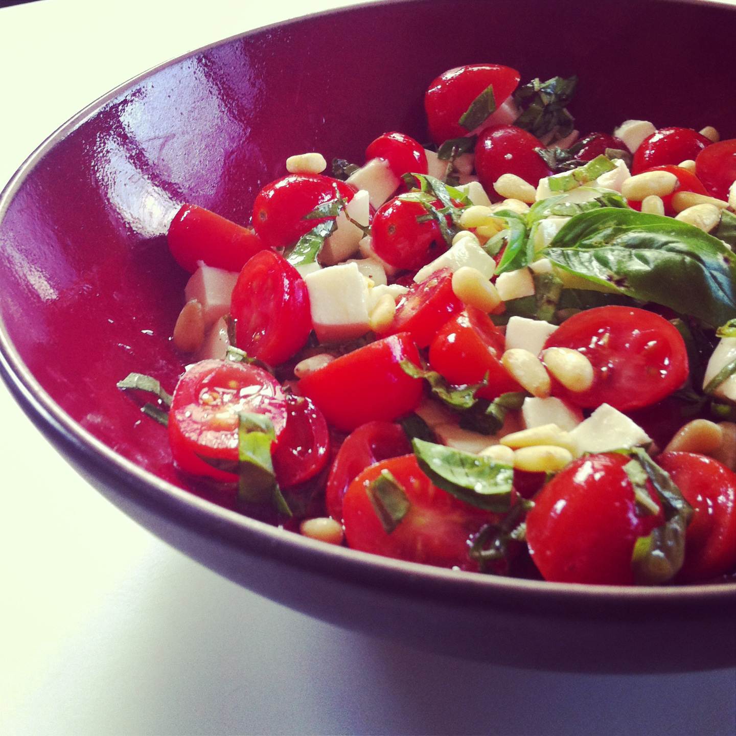 Back To The Basics But Still Worth Knowing The Tomato Mozzarella Salad Friends In The Kitchen