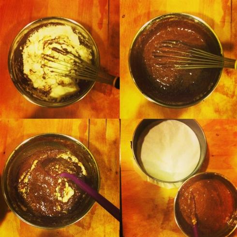 Gluten Free Almond Choc Cake-3