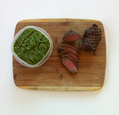Red Beef and Pesto