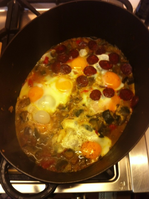 3-Eggs and Chorizo