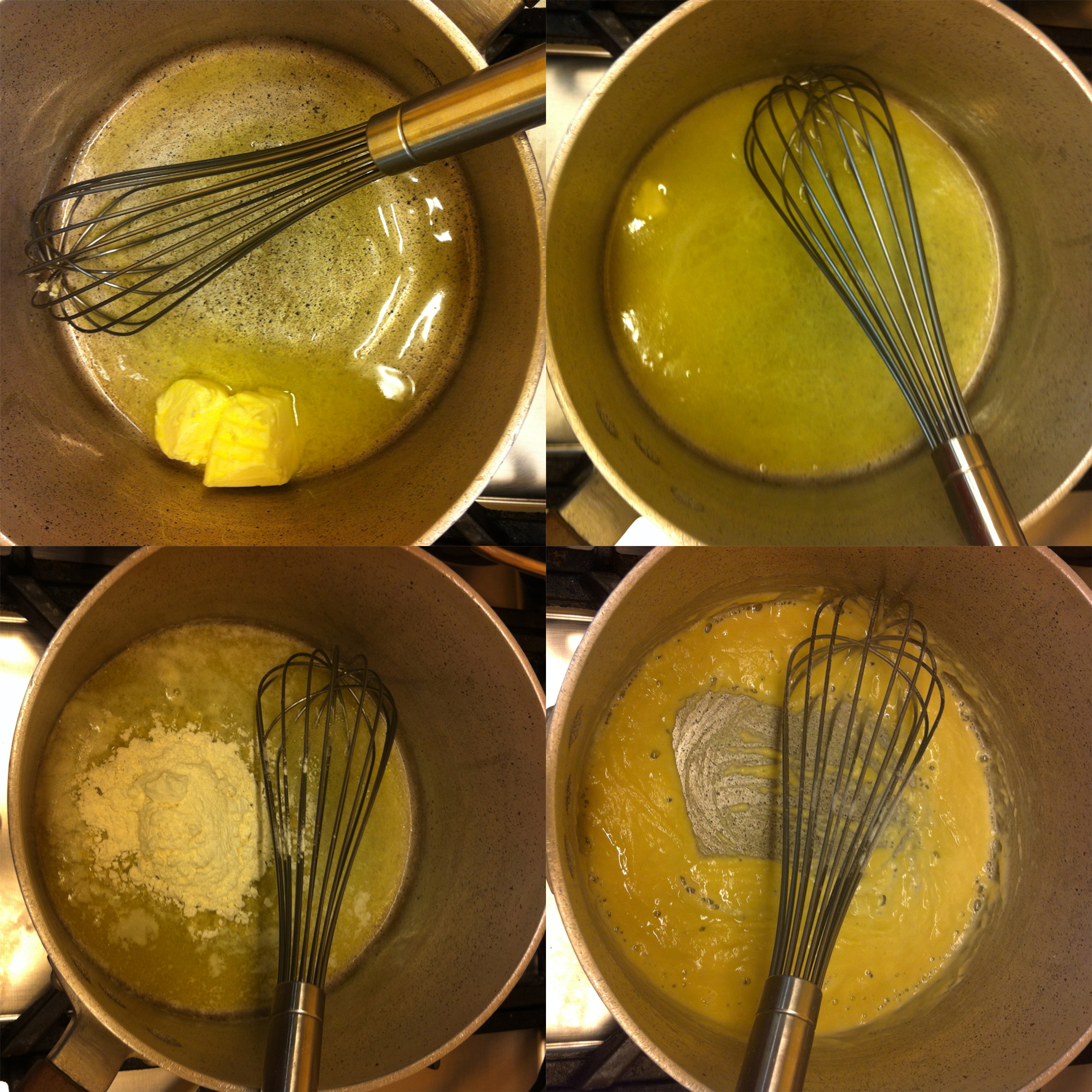 how to use water roux